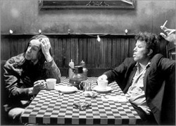 Iggy Pop y Tom Waits en Coffee & Cigarettes