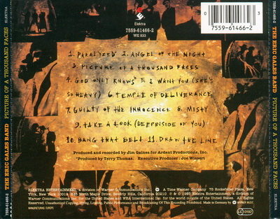 Desempolvando… Eric Gales Band – Picture Of A Thousand Faces (1993)