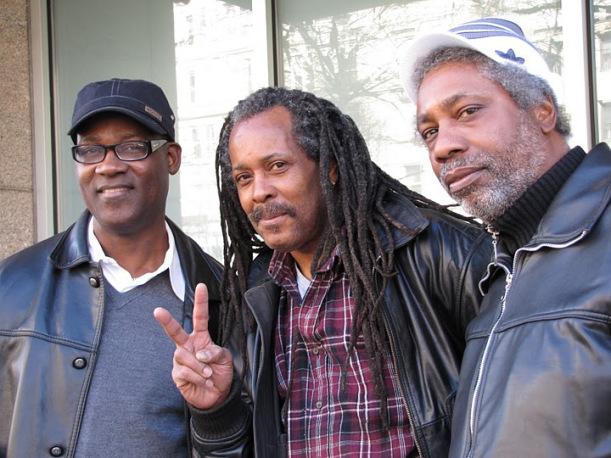 Jerry Harris, Prince Douglas Levy y Junior Delahaye