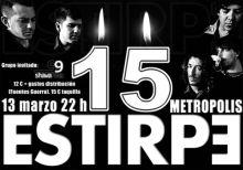 Estirpe 15 Aniversario: Sala Metrópolis (Córdoba)